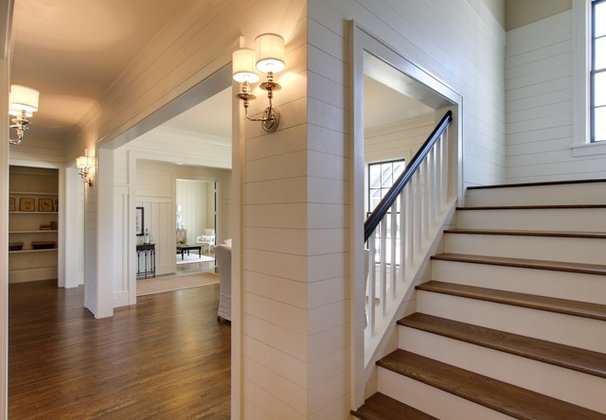 Traditional Staircase by Tad Davis Photography