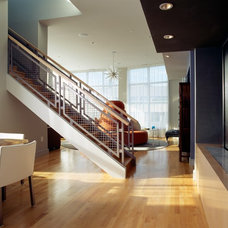 Modern Staircase by Duffy Design Group