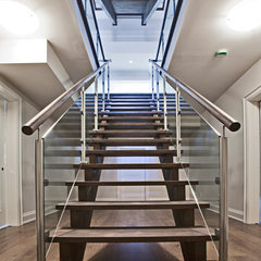 contemporary staircase by HUSH