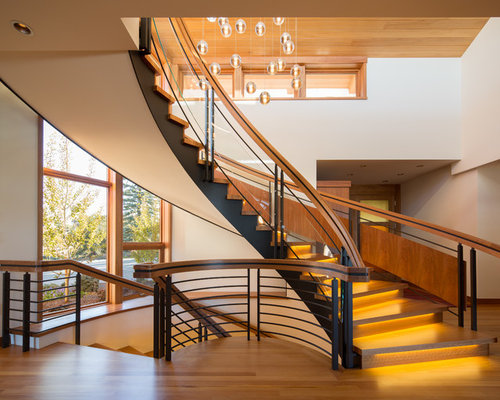 Flying Staircase Home Design Ideas Pictures Remodel And