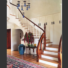 Traditional Staircase by Scott Cornelius Architect