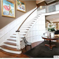 Traditional Staircase by Degnan Design Group + Degnan Design Build