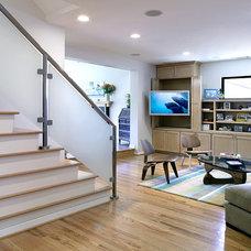 Modern Staircase by Ron Yeo, FAIA Architect