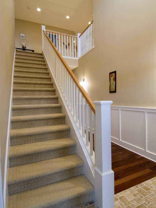 Fully Carpeted Stairs Houzz