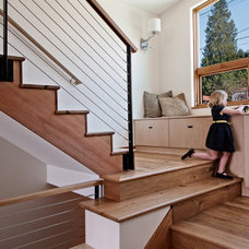 Contemporary Staircase by H2D Architecture + Design