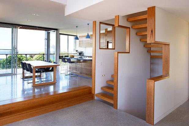 Contemporain Escalier by Mackenzie Pronk Architects