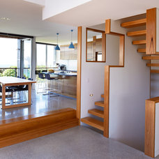 Contemporary Staircase by Mackenzie Pronk Architects
