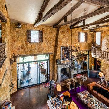 Second Level to Livingroom View