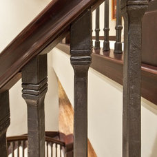 Traditional Staircase by ARTifact Interior Design