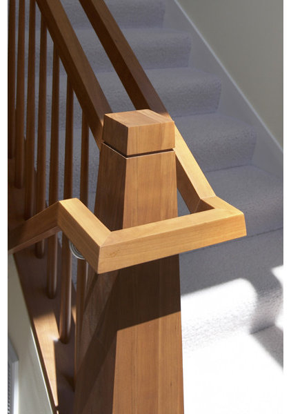 Asian Staircase by Mahoney Architects and Interiors