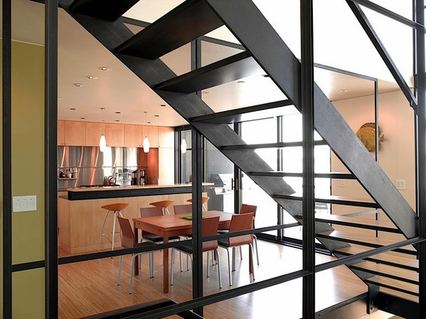 Contemporary Staircase by Eggleston Farkas Architects