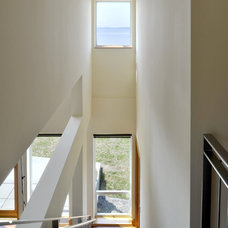 Beach Style Staircase by Rhodes Architecture + Light