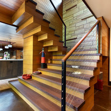 Rustic Staircase by Scott Christopher Homes/Surpass Renovations