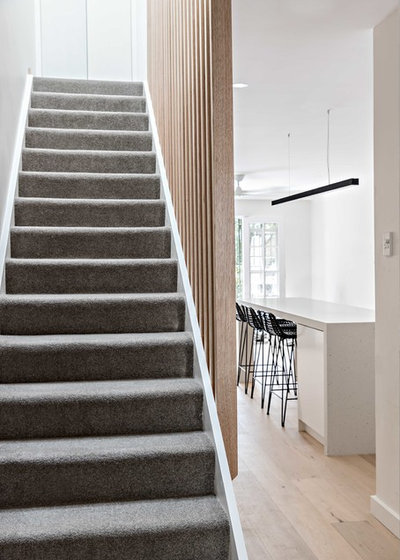 Contemporary Staircase by Kitty Lee Architecture