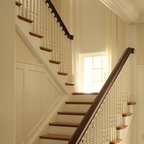 Cumming Basement Traditional Staircase Atlanta By