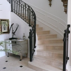 Traditional Staircase by Sexton House Interiors