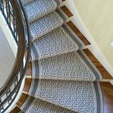 Contemporary Staircase by Brock Moran