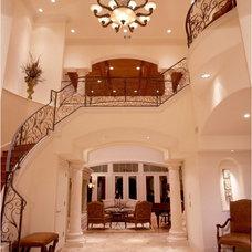 Mediterranean Staircase Shehata House Choices