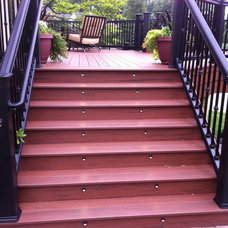 Traditional Staircase by Autumnwood Construction Inc.
