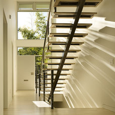 Modern Staircase by Sheri Olson Architecture PLLC