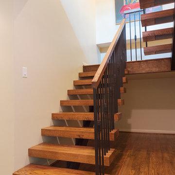 Sheridan Street Renovation Stairway