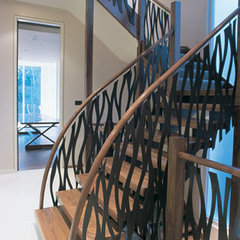 contemporary staircase by SHH - Spence, Harris, Hogan Associates