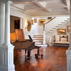 Traditional Staircase by FleischmanGarcia Architecture