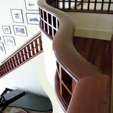 Traditional Staircase by TMS Architects