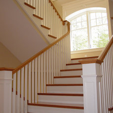 Craftsman Staircase by Fullerton Associates, Inc.