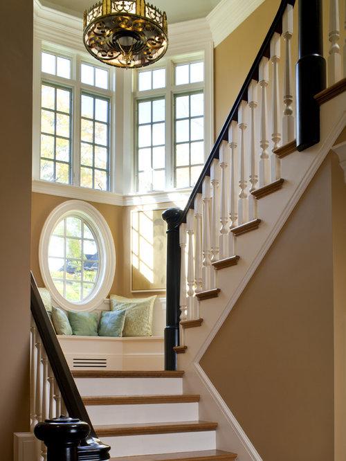 Foyer Window Nj : Styles of stairs houzz