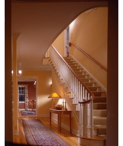 Traditional Staircase by Gleicher Design - Architecture & Interiors