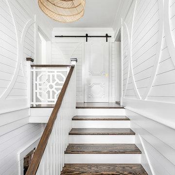 Shiplap Staircase