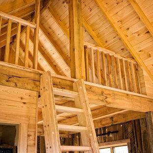 Foto de escalera rural de tamaño medio