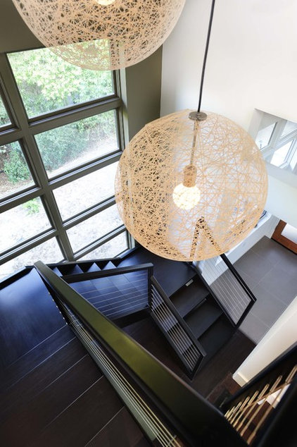 Modern Staircase by SDG Architecture, Inc.