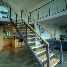 Modern Staircase by Denise Mitchell Interiors