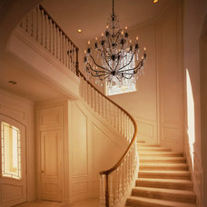 Traditional Staircase by Mark Reuter