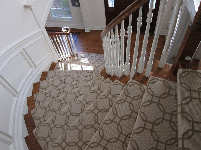 Traditional Staircase by Uma Stewart Interiors & Lifestyle