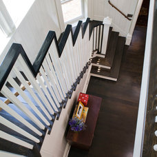 Transitional Staircase by Vanco Construction Inc.