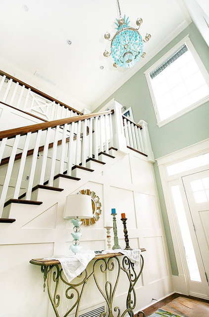 Eclectic Staircase by Four Chairs Furniture