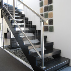 Contemporary Staircase by Top Flyte Systems
