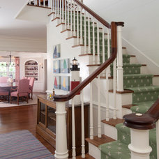 Beach Style Staircase by Brooks and Falotico Associates, Inc.