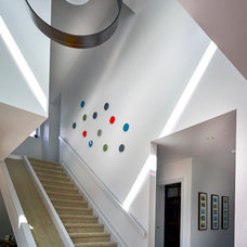 Contemporary Staircase by Inertia Corporation