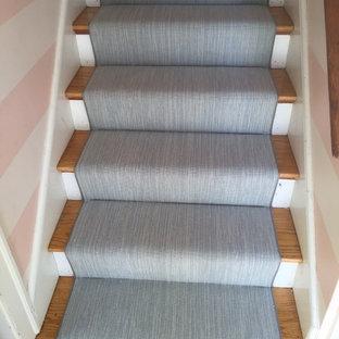 Staircase - contemporary staircase idea in Boston