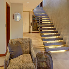 Contemporary Staircase by LevEco Architects