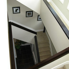 Contemporary Staircase by GayleDesigns