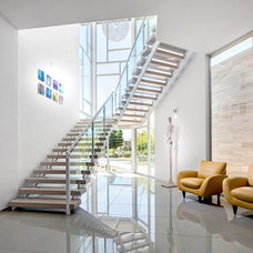 Contemporary Staircase by Simply Modern