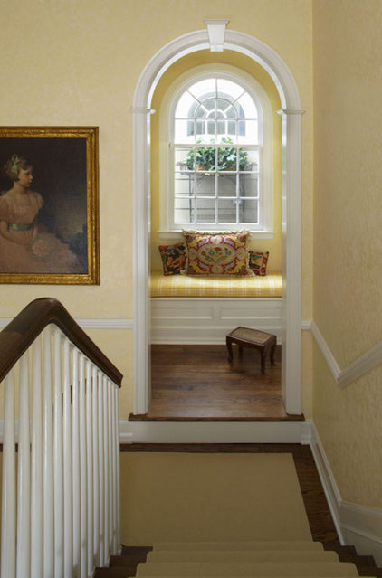 Traditional Staircase by CBI Design Professionals, Inc.