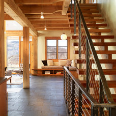 Contemporary Staircase by Gerber Berend Design Build, Inc.