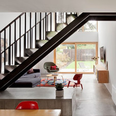 Contemporary Staircase by In Situ Architecture