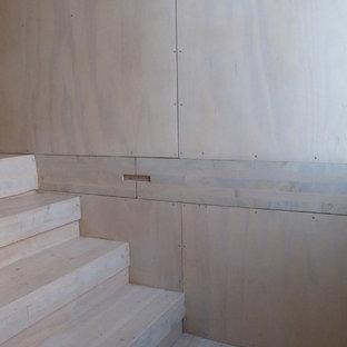 Cette image montre un escalier nordique.
